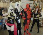 3 Ladies and a Deadpool by hayatefaith