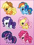 More Chibi Ponies by celesse
