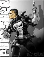 The Punisher Collab by PsychoSlaughterman