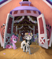 Harmonic Wedding (Commission) by Ruffu