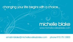 Michelle Blake Business Card by OutlawRave