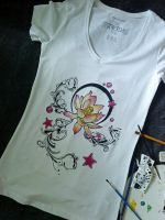Flower T-shirt -Turanneth- by turanneth