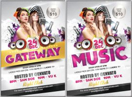 Gateway Party Flyer by caniseeu