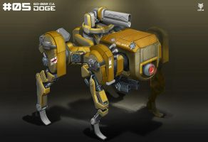 Mecha Weekly #05 Doge by Loone-Wolf