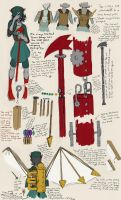 steamstuck - terezi weaponry reference by xthebucketwhisperer
