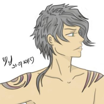 Guy + Tattoo :- Hot? by dr-rin