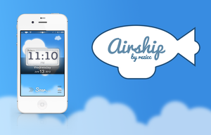 Airship - iPhone Retina Lockscreen/Carrier Theme by rezicc