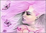 Butterfly Wings Aceo by Katerina-Art