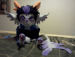Eridan plushie by Corupted-Data