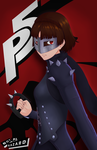 Persona 5 New Girl by Not-a-Hazard