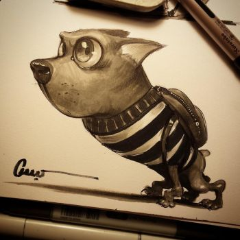 Warped Dog by Omar-Dogan