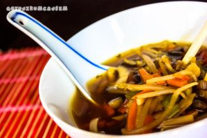 Simple asia-style soup by FilippoGonzales