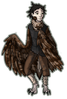 Asio the Owl Spirit (Little Owl version) by Biali