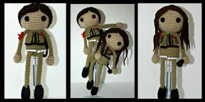 Ghostbuster Love Amigurumi by oywiththeplushies