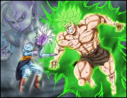 Kaioshin VS Romanesco by DBZwarrior
