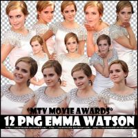 Pack 5 Emma Watson PNG by oscarelnoble