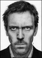 Hugh Laurie by LifelessAlarm