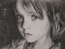 charcoal on paper by LOUGOS