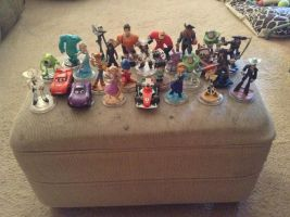My Disney Infinity Collection by UKD-DAWG