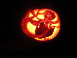 Rapunzel Carving by Ringo-Chu