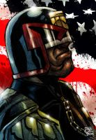 Dredd Color Sketch by Kenpudiosaki