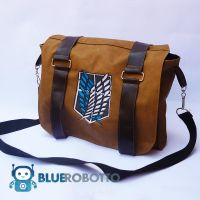 Attack on Titan messenger bag by BlueRobotto