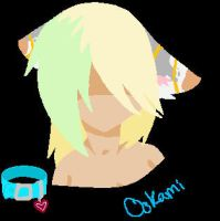Lineless and eyeless Ookami by CometStre