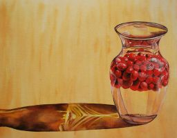 Cranberries and Glass by k8lag