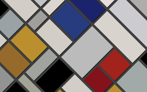 Inspired by Theo van Doesburg - Composition XVI by Manshonyagger