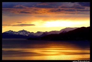 Norway - sunset III by section-23