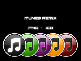 iTunes Color Remix by btbenjo