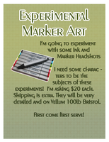 marker commissions! by Psitt