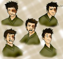 Zuko: Character Study by DeFemme