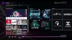 Windows 8 Concept WMP [Home Tab] by Fearnoid
