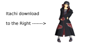 MMD Itachi DL by Littleaerith2140