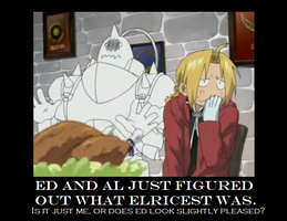Ed and Al discover Elricest by Nicos-Goth-Girl