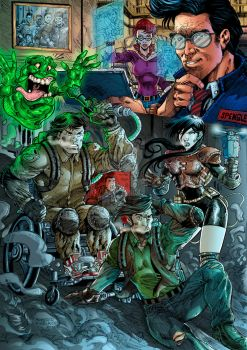 Extreme Ghostbusters by RobertoRibeiro