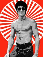 Bruce Lee by tinamin1