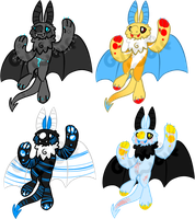 Bat Adoptebles 2 by LobsterAdopts