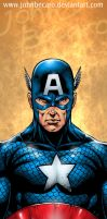 Captain America _Bust by johnbecaro