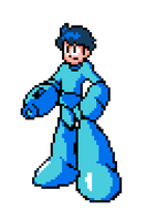 Megaman Custom Sprite by NoirEater
