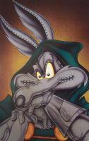 Wile E Coyote as dr doom by Bjnix248