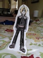 Edward Elric Cutout by starbuxx