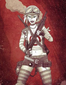 Tankgirl by Fuacka