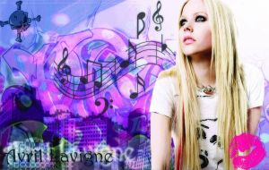 Avril poster by Rita09