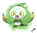 Grass Sloth Starter by peteToaDDy