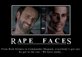 Rape Faces Motivational by EspionageDB7
