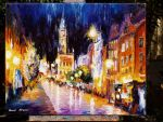old painting 137 by Leonid Afremov by Leonidafremov