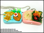 More Bento Necklaces by GrandmaThunderpants