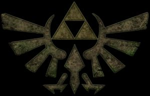 Ancient Triforce Symbol by Lizard-of-Odd